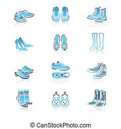 Schuhe-Ikonen