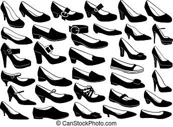 Schuhe illustrieren
