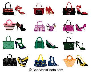 Schuhe und Taschen