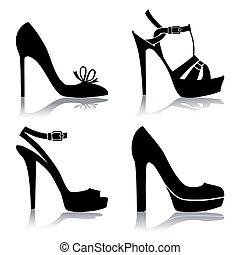Schuhesammlung