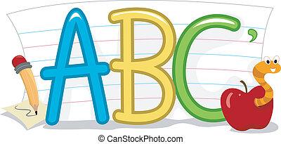 Schul Alphabet