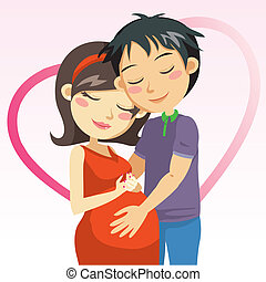 schwangerschaft, liebe