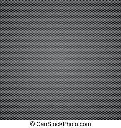 Schwarz gepunktetes Metallblech