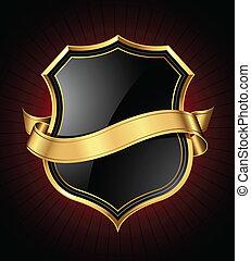 Schwarz-Goldschild und Band
