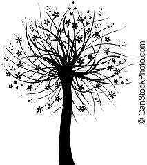 Schwarzer Baum