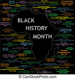 Schwarzer Geschichtsmonat kollabiert