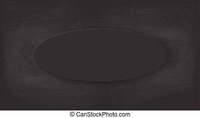 Schwarzer Kreide Hintergrund.