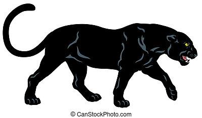 Schwarzer Panther.