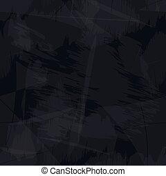 Schwarzes und graues Grungy Papier nahtlos Hintergrund eps10.