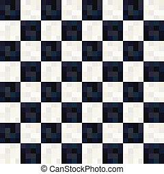 Schwarzweiß-Quadratmuster.