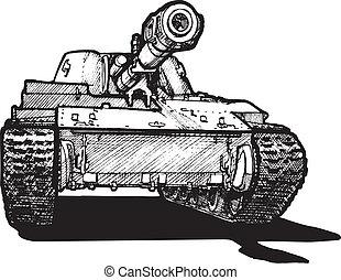 Schwerer Tank.