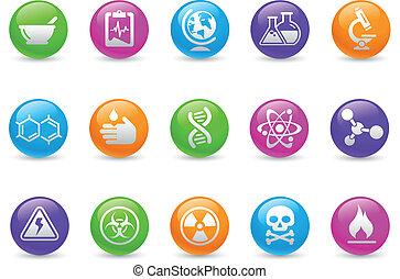 Science Icons / Regenbogen.