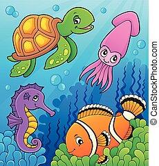 Sea Life Thema Bild 3.