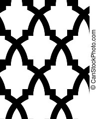 Seamless arabischer Mosaik
