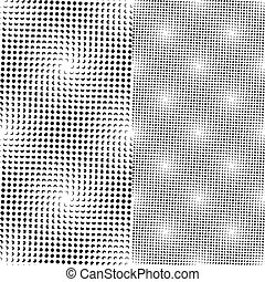Seamless dots Muster (vektor)