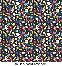 Seamless floral background.eps