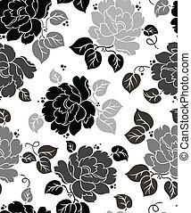 Seamless floral-wallpaper