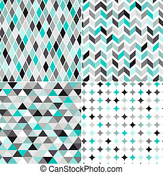 Seamless geometrisches Muster