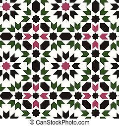 Seamless islamisch geometrisches Muster
