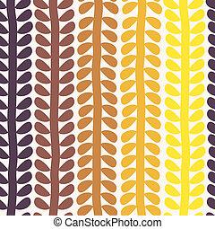 Seamless retro geometrisches Muster