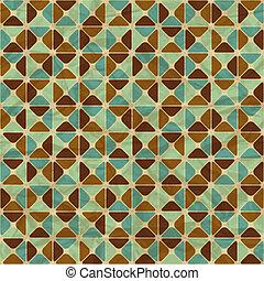 Seamless retro geometrisches Muster.