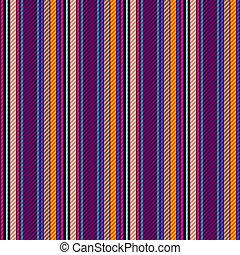 Seamless vivid gestreiftes Muster
