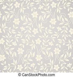 Seamless wirl floral Hintergrund