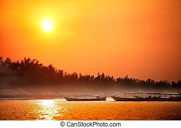 Seaside Sonnenaufgang