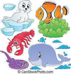 Seefische und Tiere sammeln 5