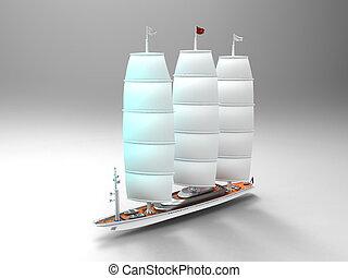 Segelbootreplik