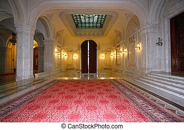 Sehr luxuriöser Palastraum