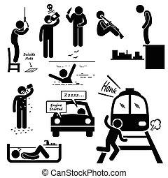 Selbstmordmethoden.