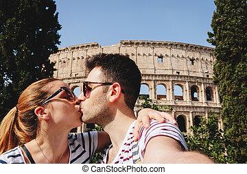 Selfie in Rom.