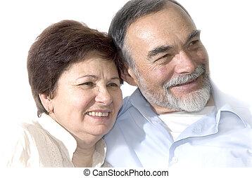 Senior-Paar