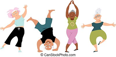 Senior Yoga.
