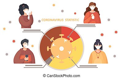 senkt, statistics., coronavirus, virus, disease., diagramm, covid-19., wasserwaage, prävention, zeichen