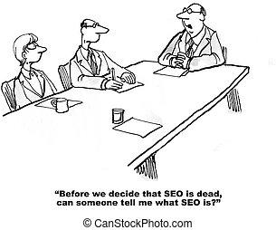 SEO und Internet.