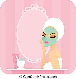 series-mask, skincare