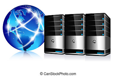 Server und Kommunikations-Internet