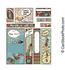 Set of Easter Banners und Adverts in vielen unterschiedlichen Größen; 88 x 31, 468 x 60, 234 x 60, 120 x 240, 120 x 600, 160 x 600, 300 x 600, 252 x 144 und 300 x 250