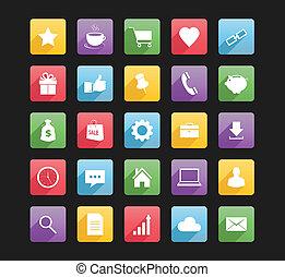 Set of web icons 1.