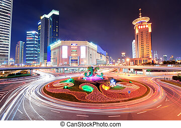 Shanghai Street Night