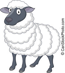 Sheep Cartoon.
