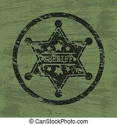 Sheriff-Abzeichen