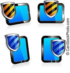 Shield Antivirus Tablet 3D und 2D