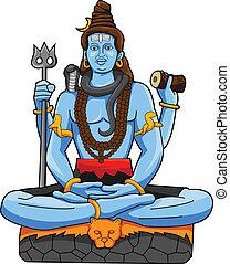 Shiva-Statue.