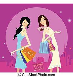 Shopping-Duo