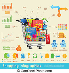 Shopping-Infographics