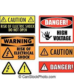 Sichere elektrische Zeichen