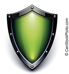sicherheit, grün, schutzschirm